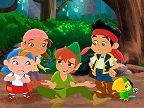 Puzzle cu Peter Pan si Baietii Pierduti