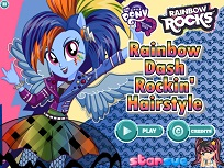 Rainbow Dash Coafuri Tari