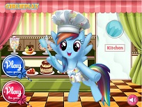 Rainbow Dash si Cofetaria