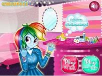 Rainbow Dash si Manichiura Speciala