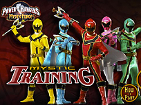 Power Rangers Antrenament Mistic