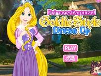 Rapunzel Goldie Style