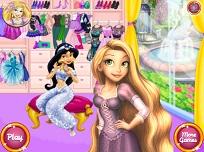Rapunzel Imbracaminte si Machiaj