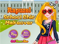 Rapunzel Makeover pentru Scoala