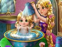 Rapunzel Spala Bebelusul