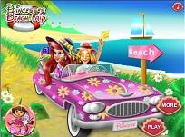 Rapunzel si Ariel Excursie la Plaja