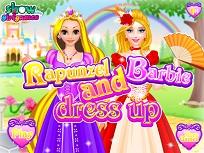 Rapunzel si Barbie de Imbracat