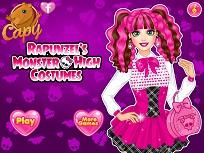 Rapunzel si Costumul Monster High