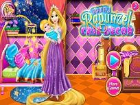 Rapunzel si Decorul pentru Camera  Bebelusului