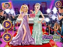 Rapunzel si Elsa pe Covorul Rosu