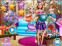 Rapunzel si Petrecerea Pentru Bebelus