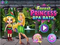 Rapunzel si Printesa Padurii la Spa