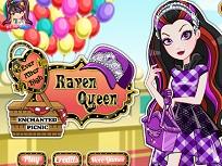 Raven Queen la Picnic