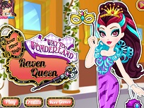 Raven Queen si Stilul din Tara Minunilor