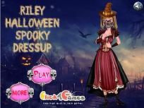 Riley si Costumul Infricosator de Halloween