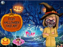 Riley si Desenele de Halloween