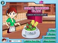 Sara si Inghetata cu Ceai Verde