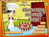 Sara si Tortul cu Muse de Ciocolata