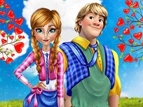 Saruturi cu Anna si Kristoff