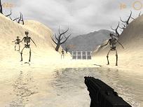 Schelete in Desert