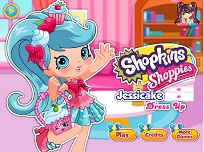 Shopkins Shoppies Jessicake de Imbracat