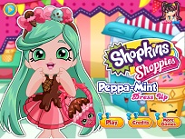 Shopkins Shoppies Peppa Mint de Imbracat