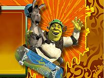 Shrek cu Skateboardul