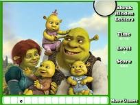 Shrek Litere Ascunse