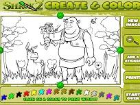 Shrek de Colorat