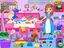 Sofia Intai Curatenie in Dormitor