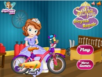 Sofia Intai Repara Bicicleta