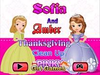 Sofia si Amber de Ziua Recunostintei