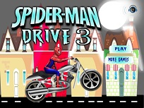 Spiderman cu Motocicleta