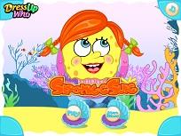 SpongeSue pe Plaja
