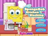 Spongebob in Bucatarie