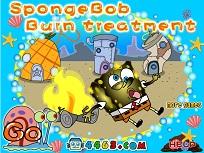 Spongebob si Tratamentul pentru Arsuri