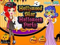 Starul din Hollywood si Petrecerea de Halloween