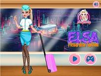 Stewardesa Elsa de Imbracat