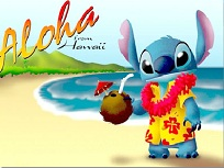 Stitch in Hawaii
