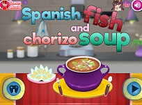Supa Spaniola cu Peste si Chorizo