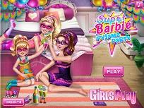 Super Barbie si Petrecerea in Pijamale