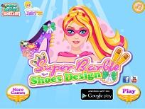 Super Barbie Creeaza Pantofi
