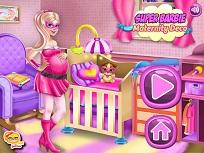Super Barbie Decoreaza Camera pentru Bebelus