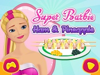 Super Barbie Gustari cu  Sunca si Ananas