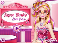 Super Barbie Se Vopseste
