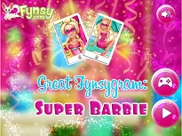 Super Barbie pe Fynsygram