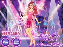 Super Barbie Pregatiri pentru Concert