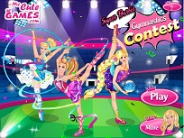 Super Barbie si Concursul de Gimnastica