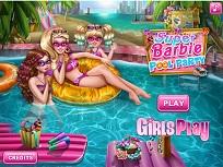 Super Barbie si Petrecerea la Piscina