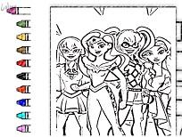Joc de Memorie cu Superhero Girls